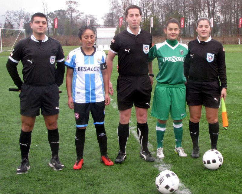 f8ca6b0cb5d43 La goleada de Deportes Temuco sobre Magallanes por la Fecha 5 de la serie  Adulta de la Zona Sur del Fútbol Femenino 2018