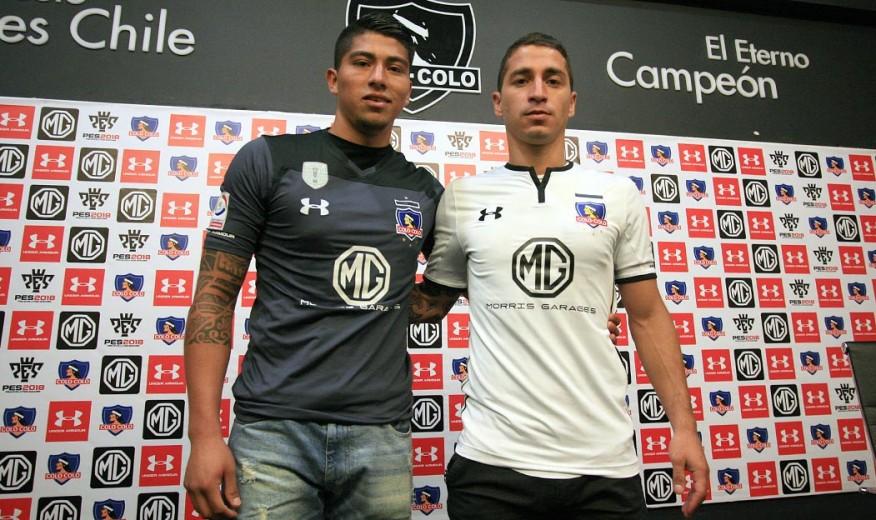 f337a34d3c438 Colo Colo presentó oficialmente a Brayan Cortés y Carlos Carmona como  refuerzos para la temporada 2018. ›