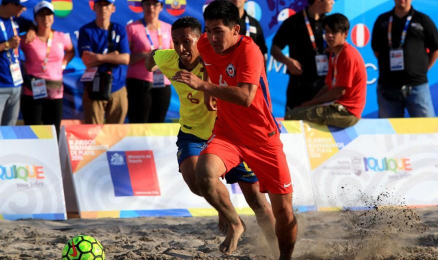 Se definieron los grupos para las Eliminatorias mundialistas de Fútbol Playa  CONMEBOL 2017. › ca5f4cacc0f86