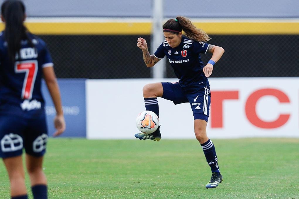 Las marcas de Universidad de Chile y Carla Guerrero en la CONMEBOL Libertadores Femenina