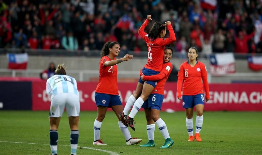 Una Roja Femenina histórica logra la clasificación al Mundial y al  repechaje olímpico