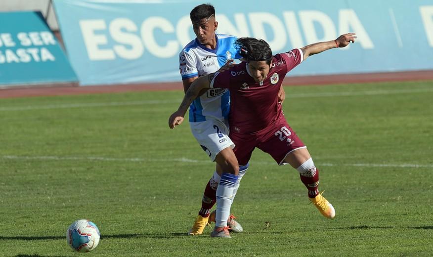 Deportes La Serena rescató un agónico empate frente a Antofagasta