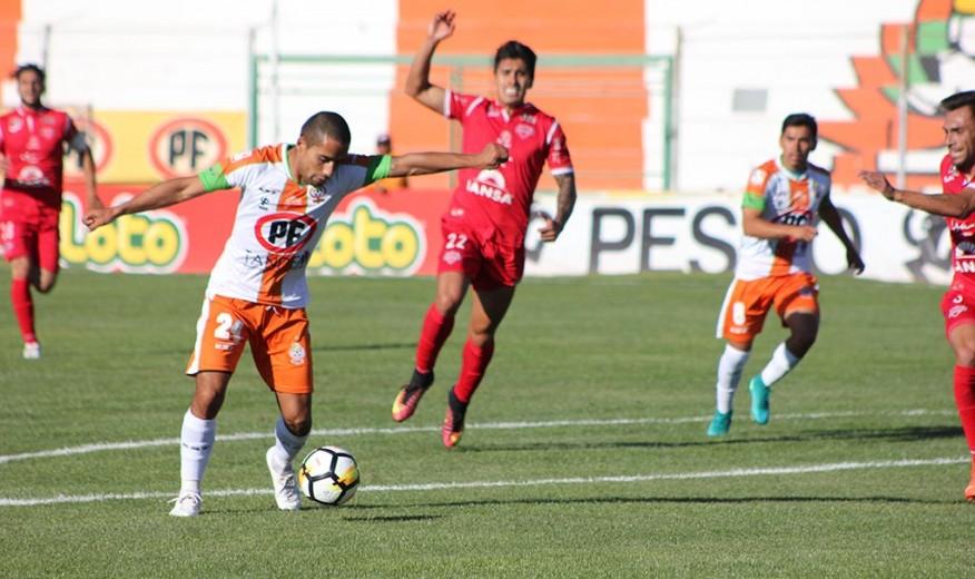 Cobresal comparte la cima del torneo tras vencer a Ñublense en el Cobre